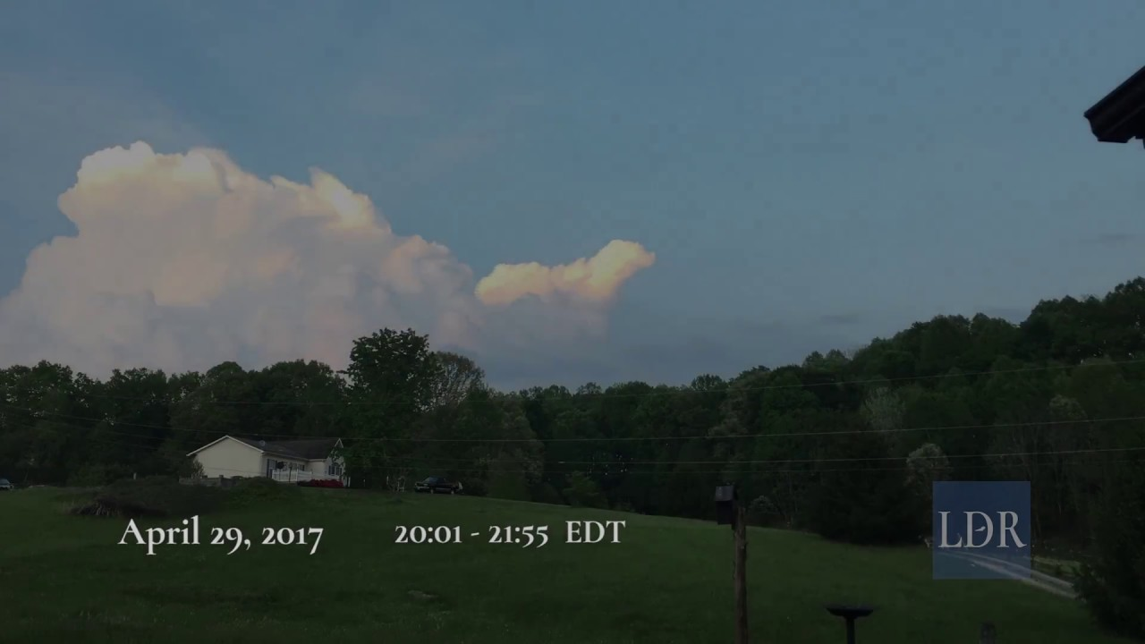 Thunderstorms Forming