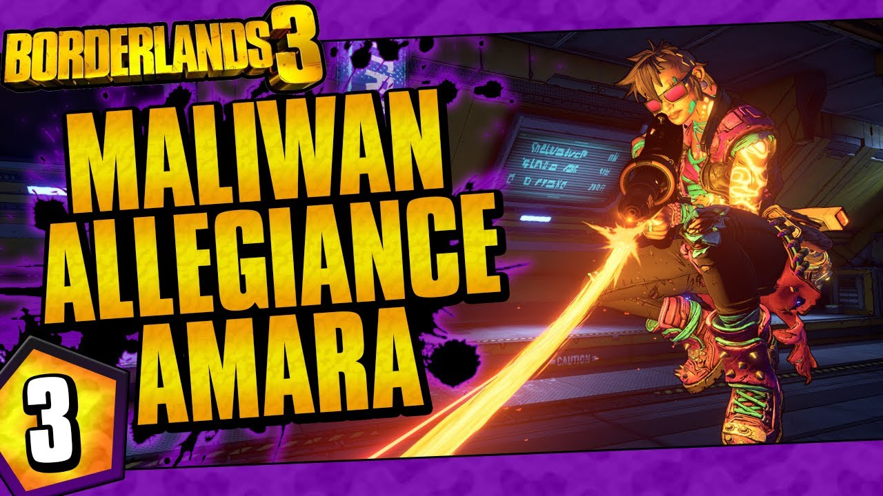 Borderlands 3 | Maliwan Allegiance Amara Funny Moments And Drops | Day #3 thumbnail
