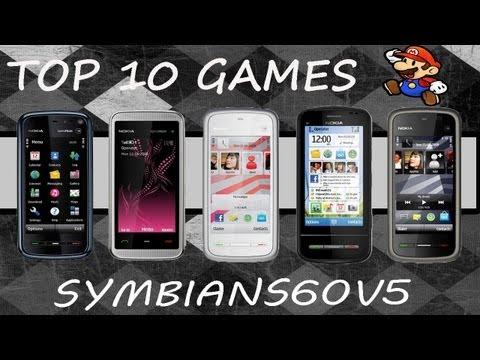 Top 10 Jogos Symbian S60v5 / S^3 - Nokia 5230,5232,5233,5235,5238,5288,5250,5530,5800,C5,C6