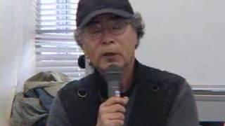 080410映画「靖国」緊急記者会見09、広河隆一、安岡卓治