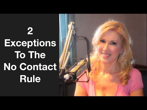 2 Exceptions To The No Contact Rule