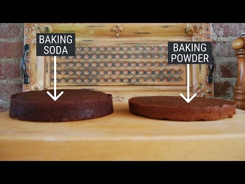 Can i use baking soda instead of powder in a recipe