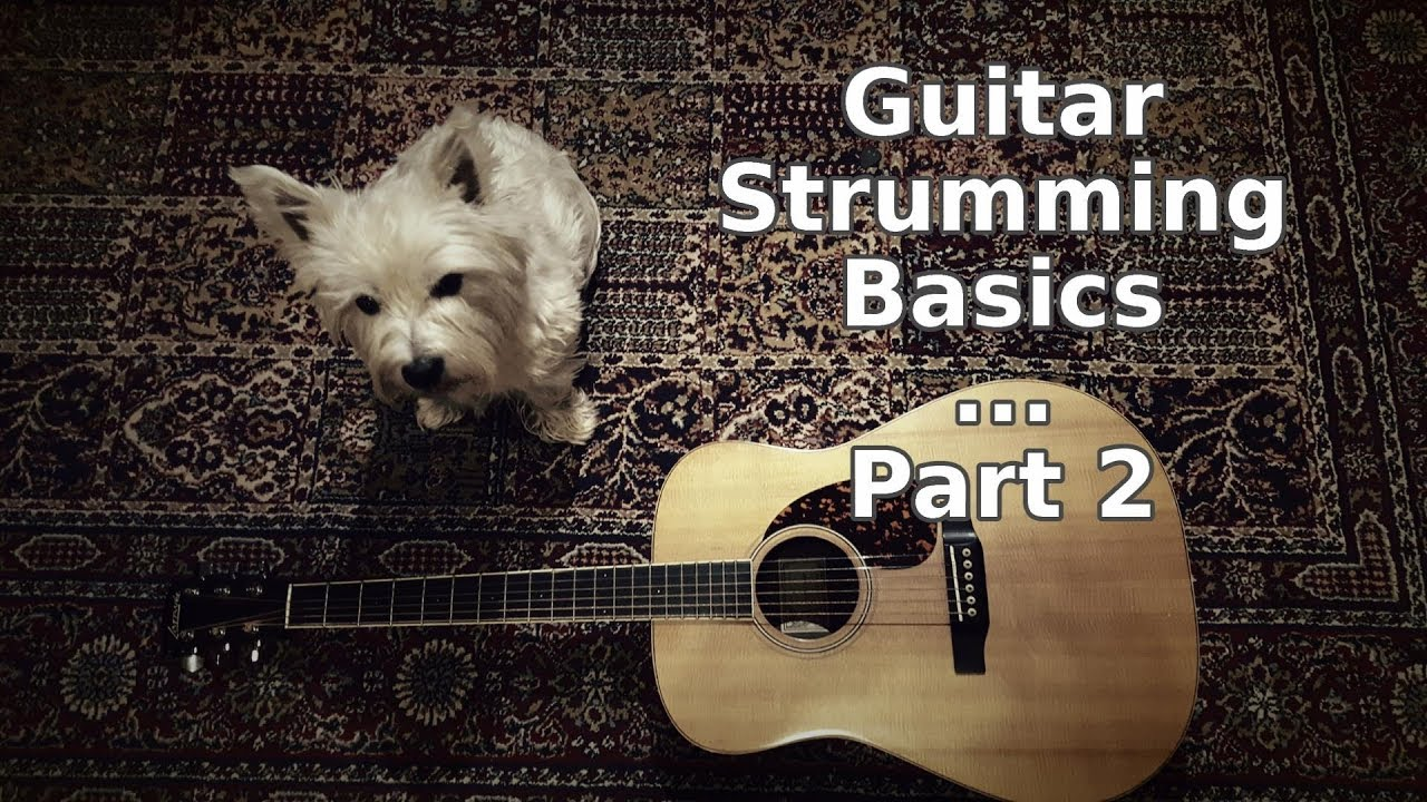 Guitar Strumming Basics Video - Part 2