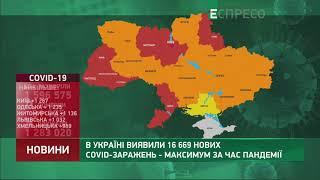 Коронавірус в Украі ні статистика за 25 березня