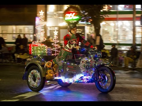 Celebration Of Lights Parade In Downtown Modesto