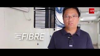 SFR Réunion - La fibre optique