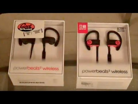 ecd1d17e11c Powerbeats 3 (New) VS (Open box) - YouTube