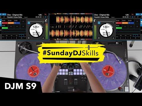 Toneplay With House Music - DJM S9 & Serato DJ Pro Mix - #SundayDJSkills