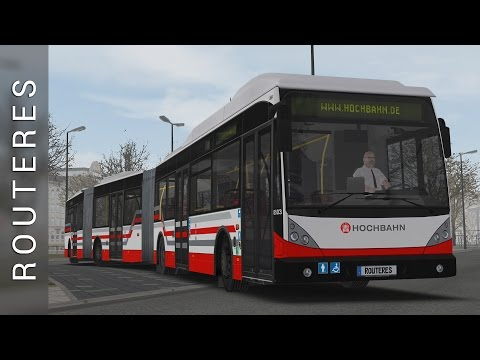 OMSI 2 - Bi-articulated Bus AGG 300 DLC