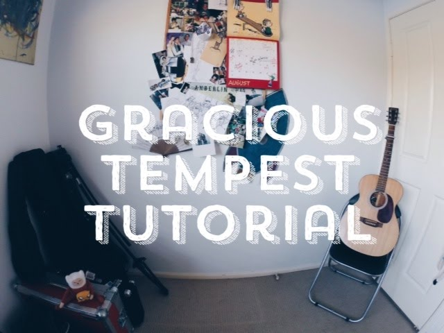 Gracious Tempest - Zeek Power tutorial Chords - Chordify