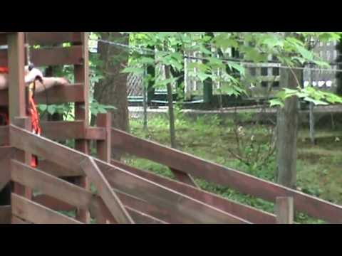 Diving Horse at the Magic Forest in Lake George, New York