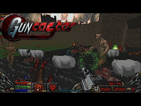 Guncaster & Maps Of Chaos with Doom II Hell On Earth, Levels 12-16