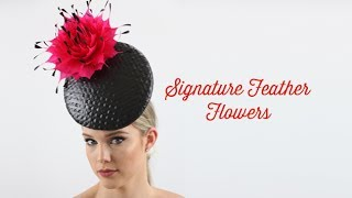 Signature Feather Flowers Course