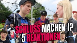SCHLUSS MACHEN?! - 5 Reaktionen