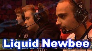 Liquid Newbee - Beautiful Comeback TI6 Dota 2