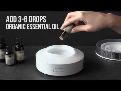 How To Use The Aroma Mist Ultrasonic Diffuser