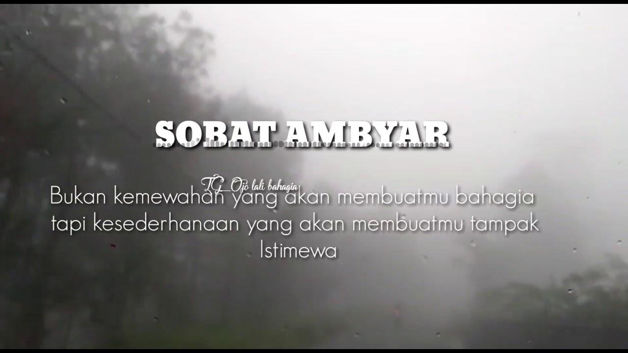 Story Wa Sobat Ambyar Istimewa Cover Ojo Takon Takon Youtube