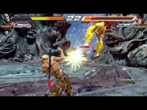 Tekken 7 - Bryan Taunt Jet Upper Compilation