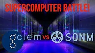 SUPERCOMPUTER BATTLE - Golem VS. Sonm