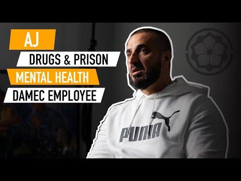AJ JADRAN - 8 YEARS PRISON BATTLING MENTAL HEALTH TO GETTING A JOB AT DAMEC