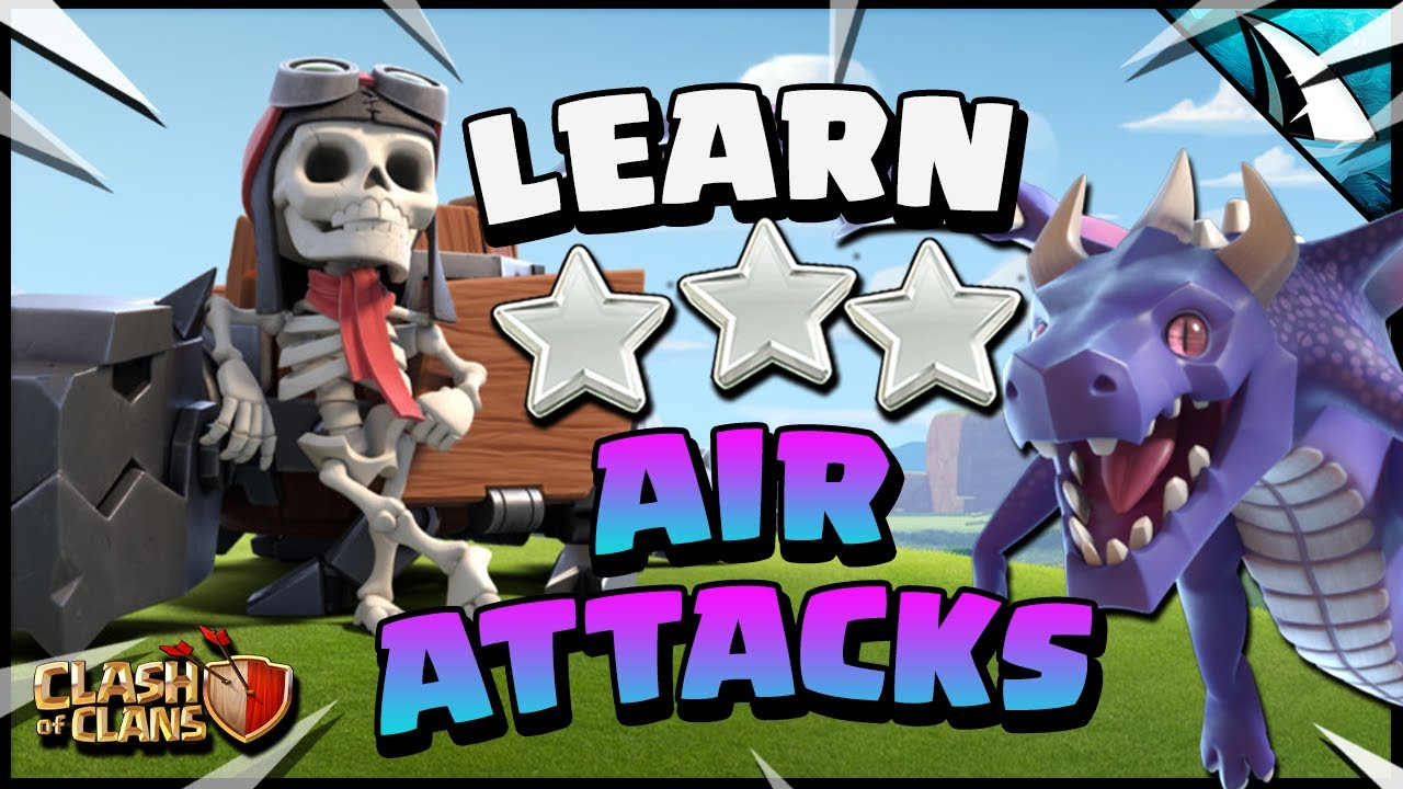 Learn the EASIEST way to AIR ATTACK at Town Hall 14 in Clash of Clans!