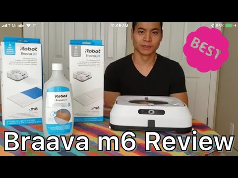 iRobot Braava Jet m6 Full In-Depth Review🙈🙊🙉. Is it just a PAD on Wheels???? Does it Clean 🤔🤔🤔