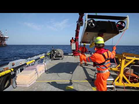 An underwater robot - Clean Sea | Eni Video Channel