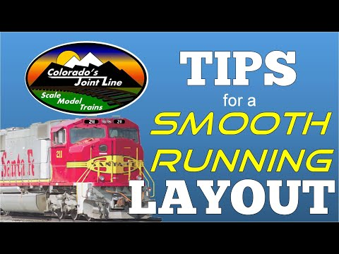 Model Train Layout Tips for Smooth Running
