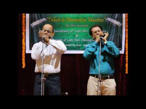 Sandhikali Ya Asha (duet) on Harmonica by Dr.Milind Paricharak and Mohnish Shete