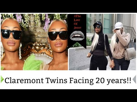 Claremont twins facing 20 years!