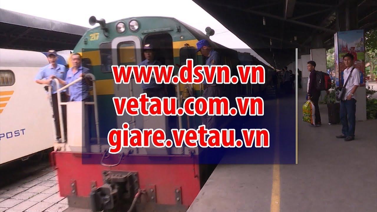 Đường sắt Sài Gòn giảm 50% giá vé tàu