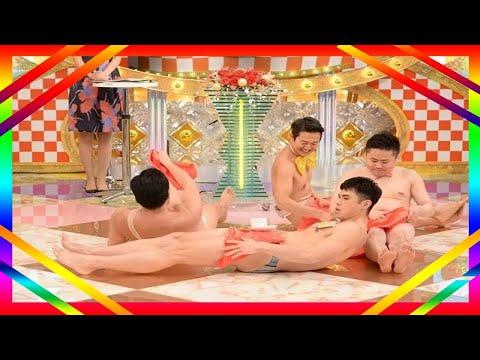 小島・安村・アキラ・ウエスP、裸芸人4人がコラボレーション芸披露