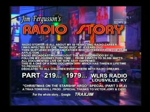 JIM FERGUSSON - VICTOR JORY!!! - CHRISTMAS ON STARSHIP ARGO - 1979 - FERGUSSON/TRAX - RS 217XL