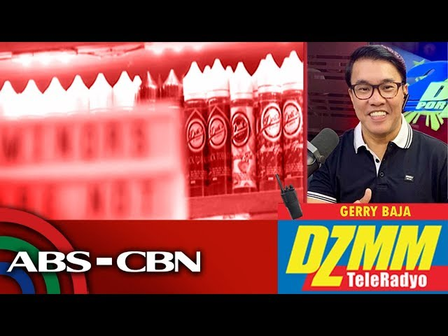 'Warning,' not detention for those caught vaping in public - police | DZMM