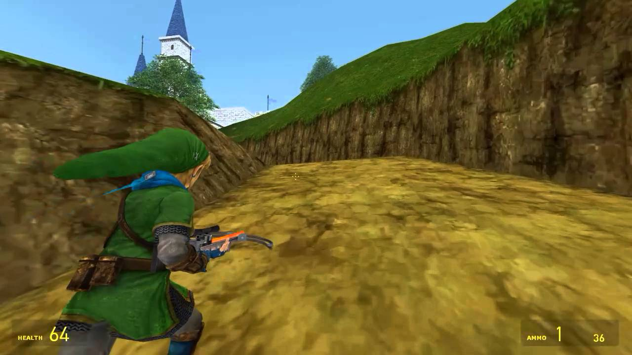 Garry's Mod - The Legend of Zelda Ocarina of Time 3D: Livestream Archives:  Zelda's Castle