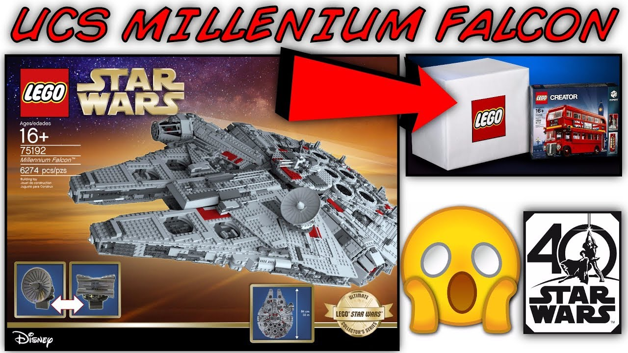 lego star wars 2017 ucs millennium falcon 75192 pictures. Black Bedroom Furniture Sets. Home Design Ideas