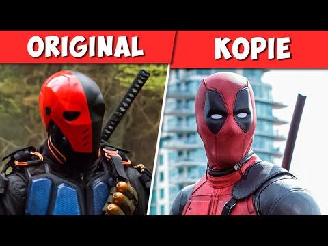 10 Charaktere, die aus anderen Comics geklaut wurden