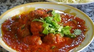 easy & simple meatball sauce (from somalia)