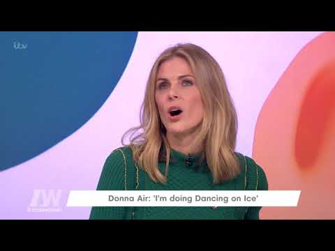Donna Air Is Doing Dancing on Ice  Loose Women