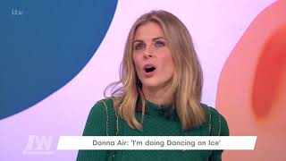 Donna Air Is Doing Dancing on Ice | Loose Women