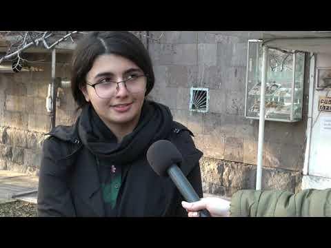 Армянская молодежь о России - опрос на улицах Еревана