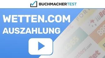 Wetten.com Auszahlung
