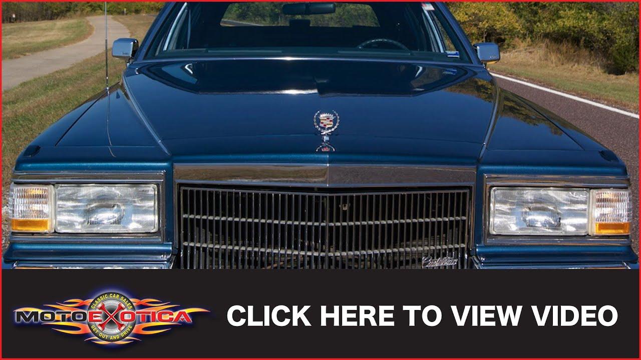 1990 cadillac fleetwood brougham 19 000 original miles sold rh youtube com HID Lights for 1990 Cadillac Sedan Deville 1989 Cadillac Sedan Deville