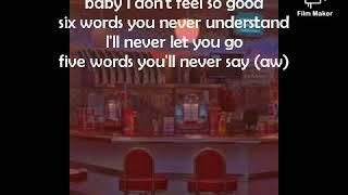 Lirik lagu Wish you were gay (Billie Eilish)