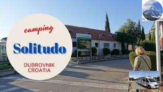 SOLITUDO camping and beach. Dubrownik Croatia