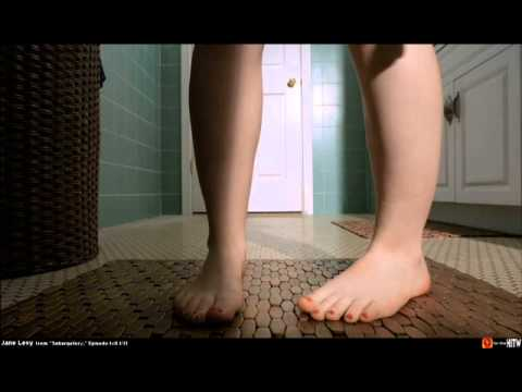 Jane Levy feet