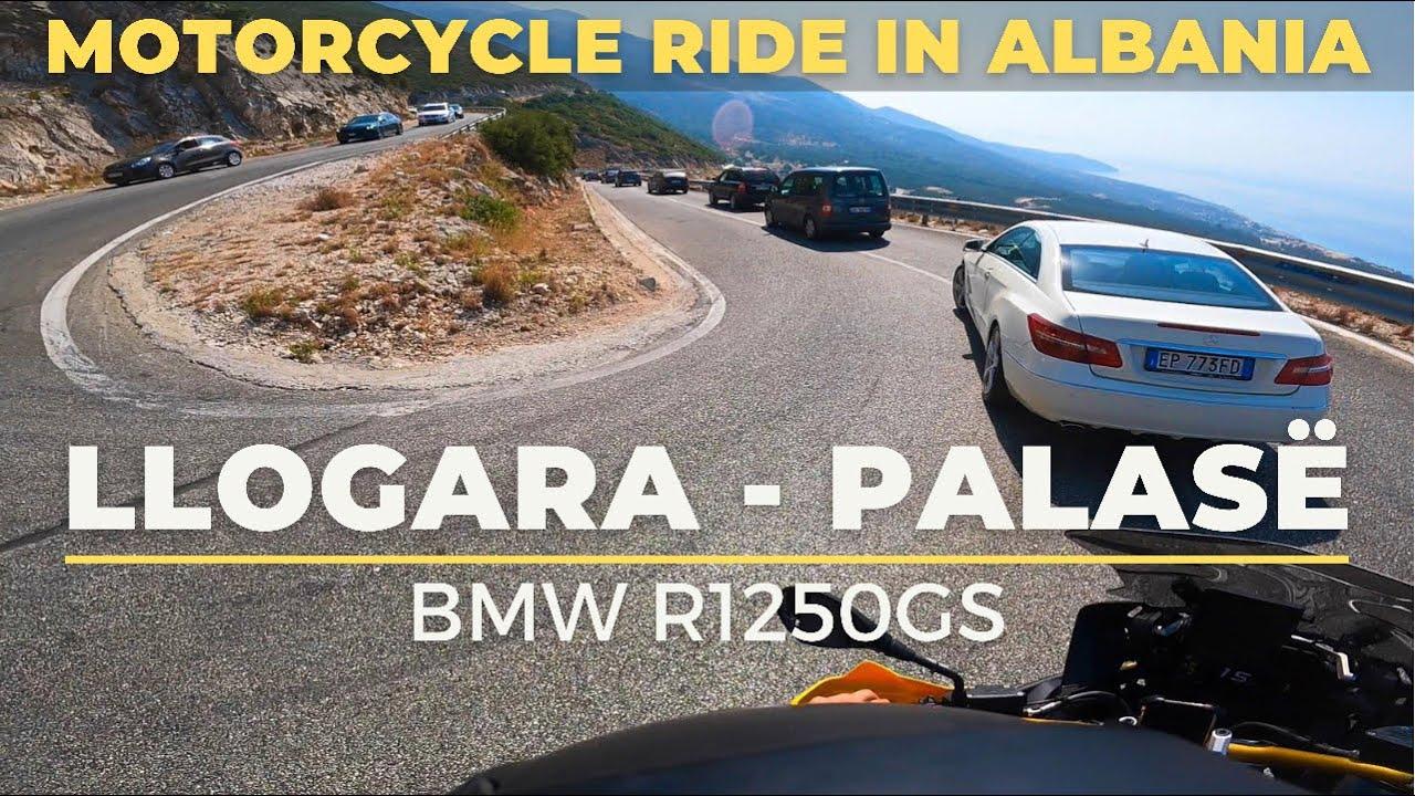 Ride to Palasë from Llogara Pass | BMW R1250GS - 🇦🇱 Vlorë, Albania