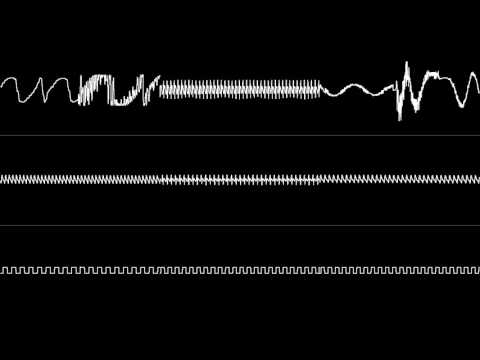 Superman (Genesis) - Round 4 BGM (Oscilloscope View)