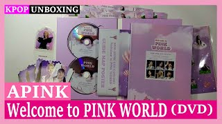 Unboxing Apink [Welcome to PINK WORLD] (DVD) 에이핑크 Photo Diar…