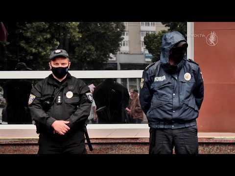 Телеканал Новий Чернігів: Пікетують поліцію| Телеканал Новий Чернігів